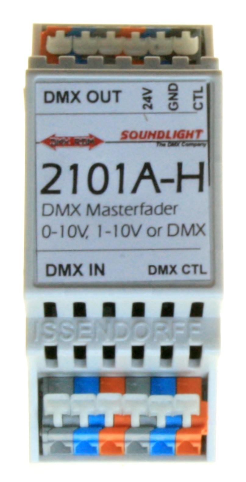 2101A-H   DMX Master Fader / Merger