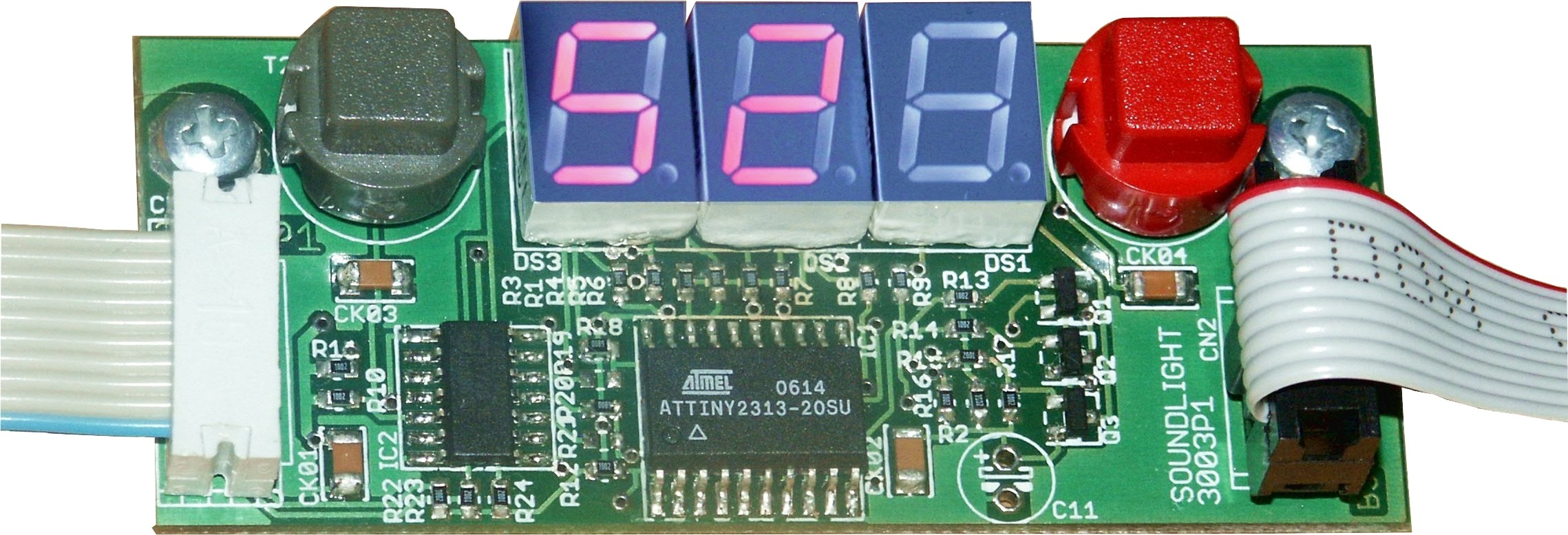 3003P | Programmeer adapter met display
