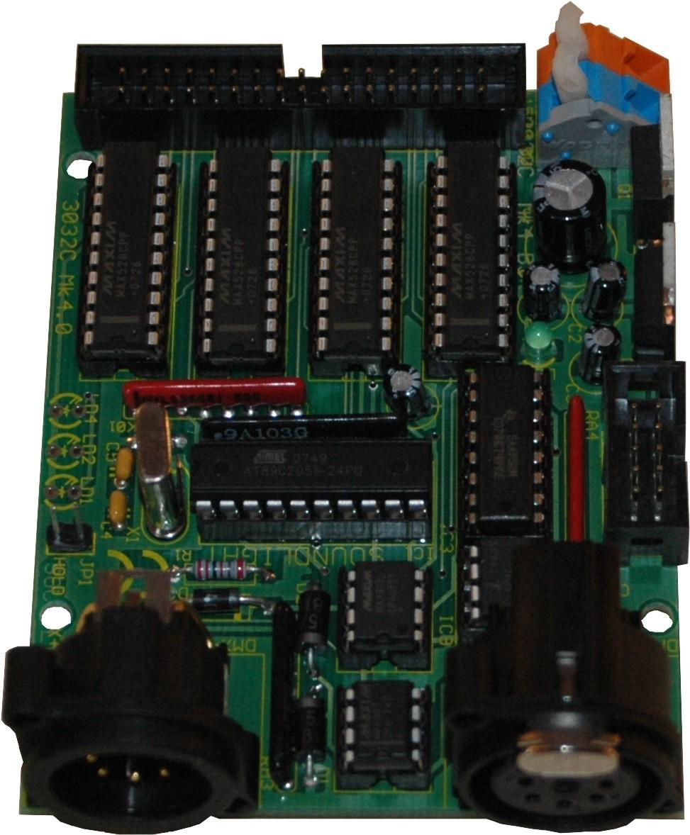 3032C-EP | DMX Demultiplexer 32-kanalen