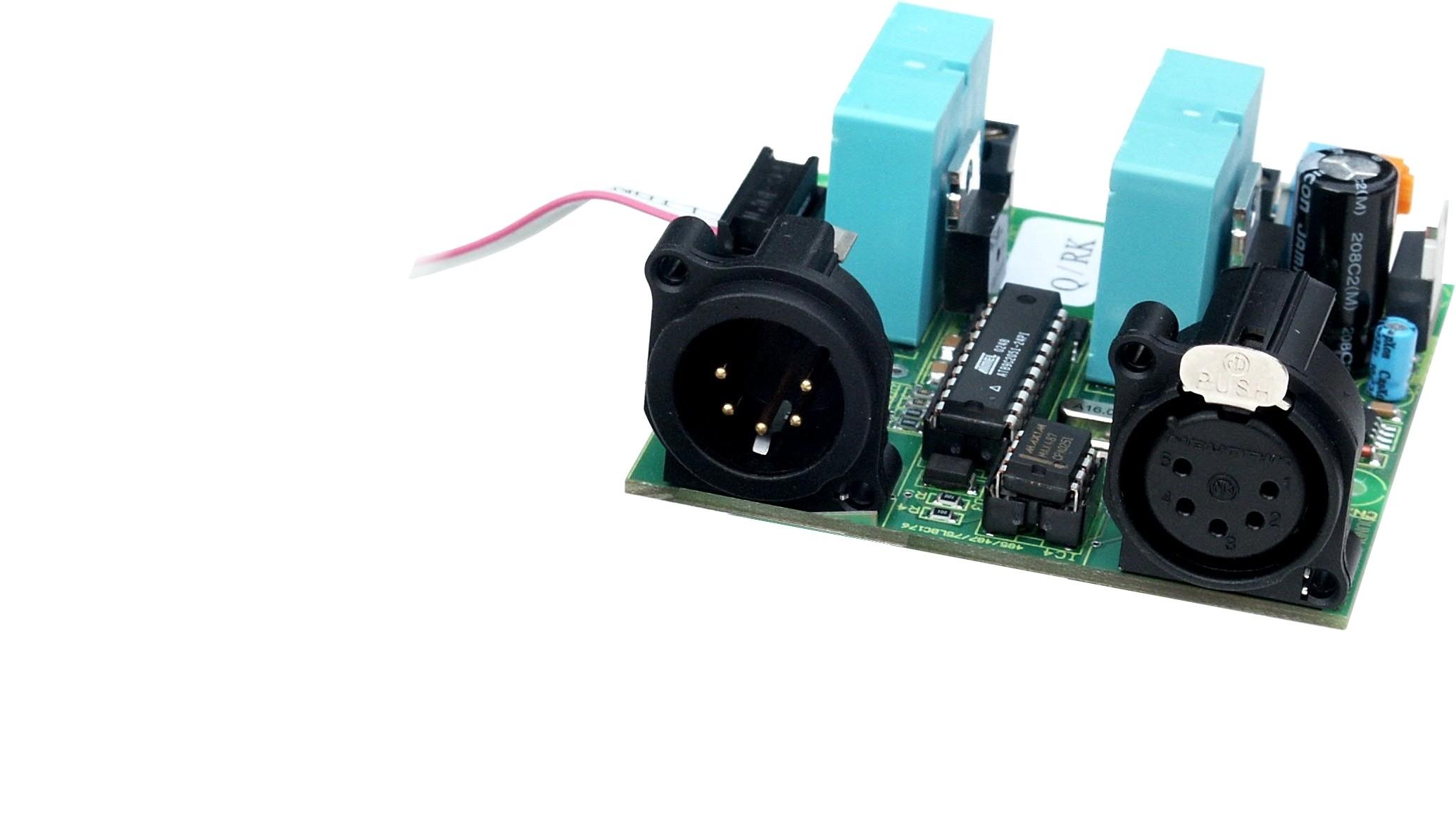 3202R-EP6 | DMX Relaisprint 2-kan, 6A, RDM