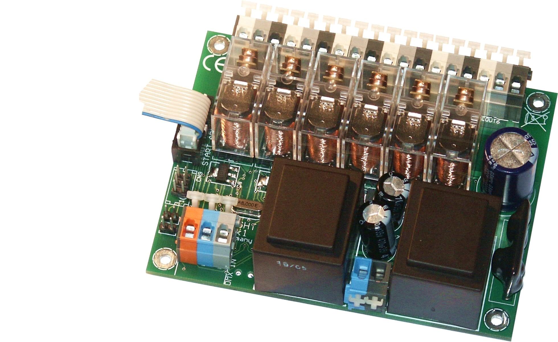 3206R-EP | Relaisprint DMX 6 kanalen, RDM