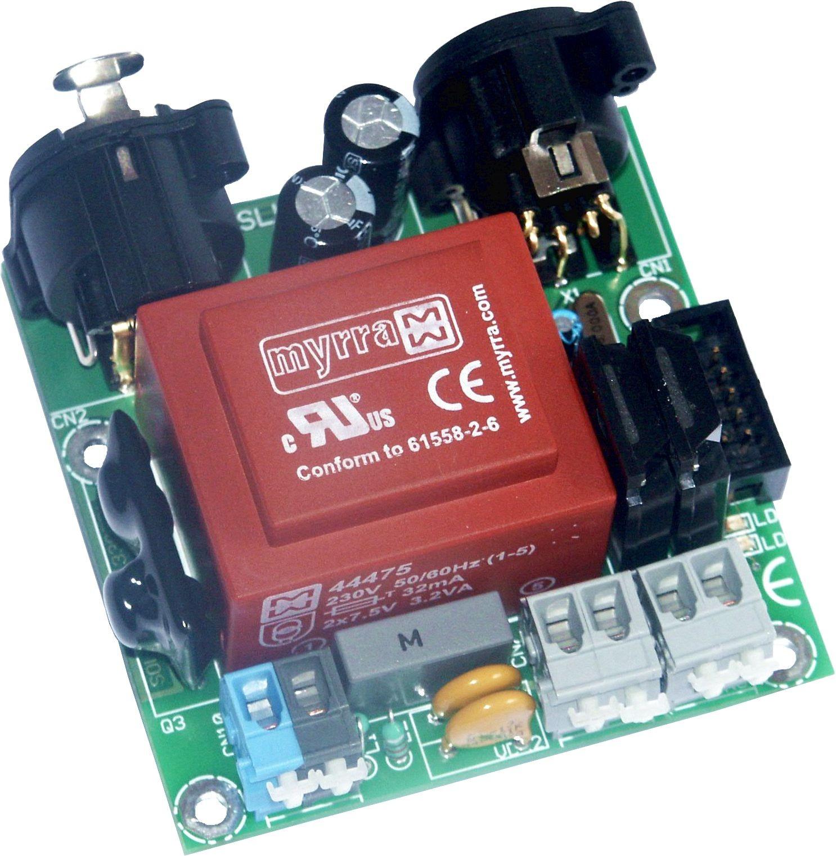 3302R-EPUS   DMX Relaisprint 2-kan met SSRelais