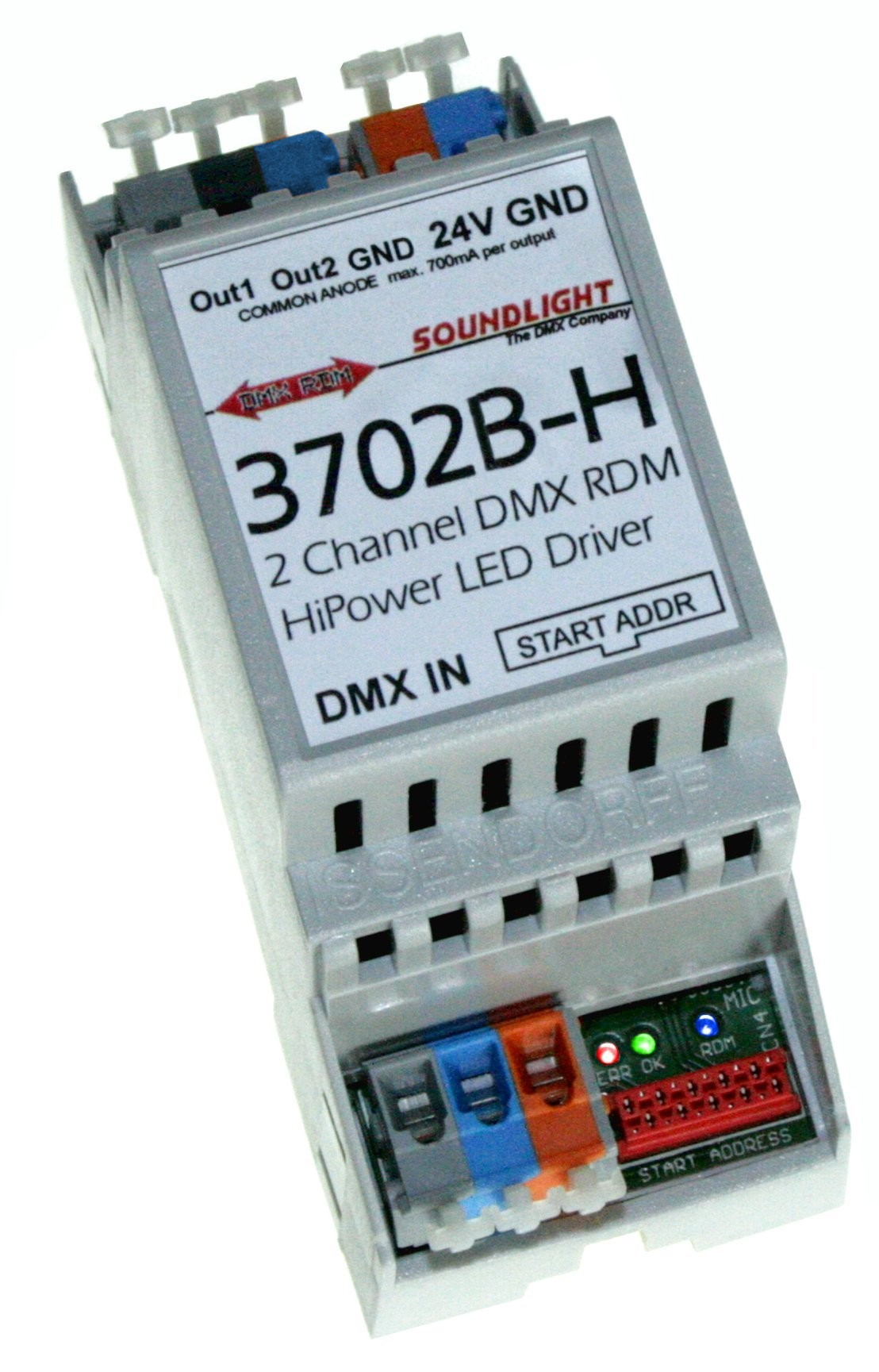 3702A-H700 | DMX 2ch LED stroomsturing RDM
