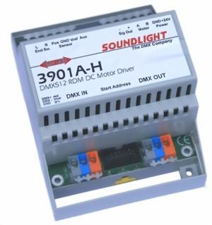 3901A-H | DC motor driver, RDM