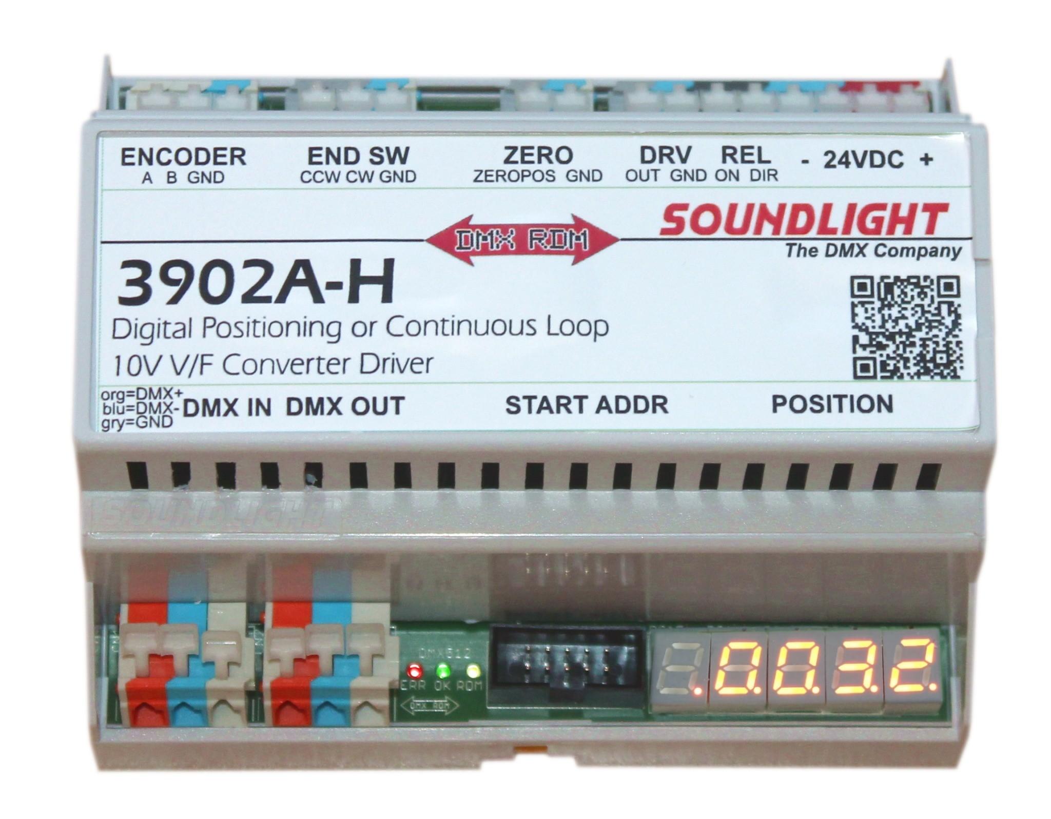 3902A-H | DMX V/F Motor Driver Interface V/F output