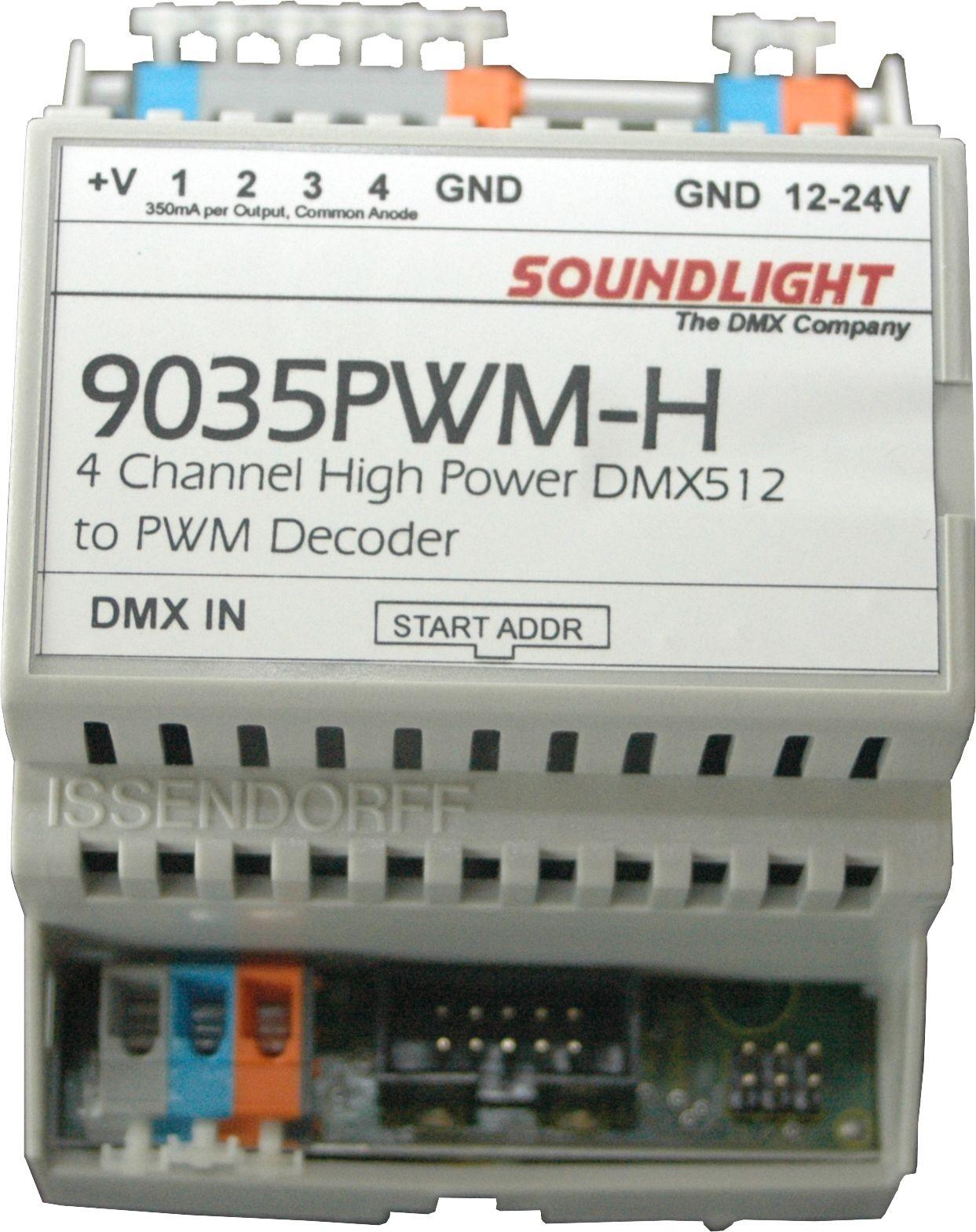 9035PWM-H | LED Driver 4 kan. PWM, RDM