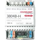 3804B-H | DMX/DSI/DALI direct Interface 4-kan. RDM