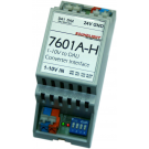 7601A-H | 1-10V naar DALI converter