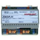 2003A-H | 3 input dmx merger