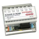 3266R-H | DMX Relais 6 kan. Railmontage, RDM