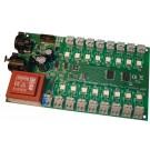 3316R-DC | Relaiskaart DMX512 16x24V DC, RDM