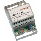 7064A-H | DALI naar DMX interface 16-kanalen