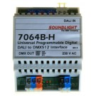 7064B-H | DALI naar DMX interface 16-kanalen