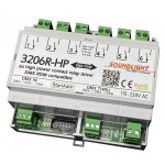 3206R-HP RDM   DMX Relais 6x NO 230V 16A